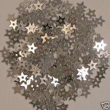 Sequins Tiny Silver Stars 800 pieces Loose