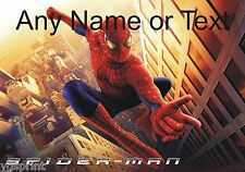 PERSONALIZADO SPIDERMAN ALFOMBRILLA DE RATÓN PC 250mm x 190mm 6mm