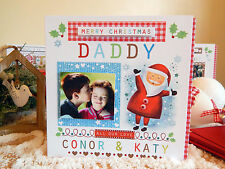 PERSONAL CHRISTMAS CARD with Photo Personalised luxury special Christmas card