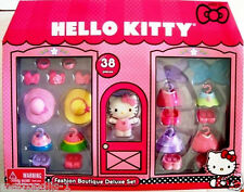 HELLO KITTY 38 PIECE FASHION BOUTIQUE DELUXE PLAYSET,DOLL & ACCESSORIES,KIDS 3+,