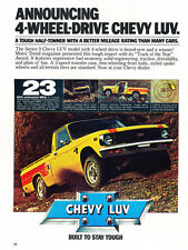 1979 Chevrolet Isuzu Luv Pickup  - Classic Vintage Car Advertisement Ad J28