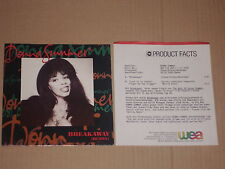 "DONNA SUMMER -Breakaway (Remix)- 7"" mit Product Facts Promo-Flyer"