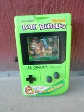 (S19D-052) VINTAGE SOAKY - NICE CONDITION -  GREEN GAME BOY