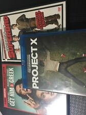 Lot Of 3 Superbad (DVD, Unrated; Extended) Project X Get Him To The Greek