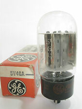 One 1963 GE 5V4GA Rectifier tube - Hickok TV7D/U tested @ 65/64, min:40/40