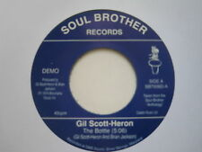 GIL SCOTT-HERON THE BOTTLE.  ( DEMO )SOUL BROTHER RECORDS REISSUE