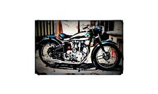 1951 Nsu Konsul Bike Motorcycle A4 Photo Poster