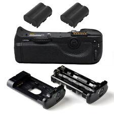 Pro Battery Grip For Nikon D300S D300 D700 +2x EN-EL3e SLR CAMERA MB-D10