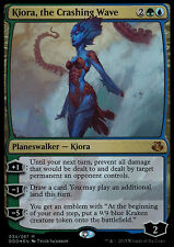 *FOIL* KIORA THE CRASHING WAVE NM mtg Elspeth vs Kiora Gold - Mythic