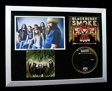BLACKBERRY SMOKE+SIGNED+FRAMED+LIKE AN ARROW=100% AUTHENTIC+EXPRESS GLOBAL SHIP
