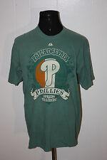 Deadstock Majestic Philadelphia Phillies Spring Training Celtic Flag Green Tee S