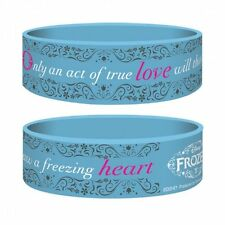 Gummi Armband FROZEN (Die Eiskönigin) - Act Of True Love 55x25mm Blau Junior NEU