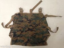 USMC WOODLAND DIGITAL MARPAT RADIO POUCH ILBE for Main Pack Ruck USGI Marines