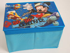 Mickey Mouse Club House Colourful Storage Box 30 x 40 x 25cm with Lid New