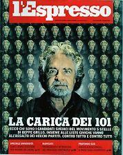 L'Espresso.Beppe Grillo,Robert Kagan,Hugh Grant,iii