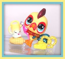 ❤️Limited Edition Littlest Pet Shop LPS Rooster #2358 ~ ZEUS Accessories LOT❤️