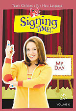 Signing Time! Volume 10 - My Day (DVD, 2006) NEW