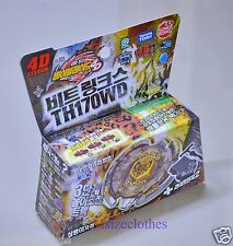 Fusion Metal Beyblade BB109 Beat Lynx TH170WD Beyblades 4D with Launcher Takara