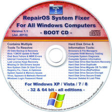 Remove Virus/Spyware/Adware/Malware: System Fixer BOOT CD - Windows XP/Vista/7/8