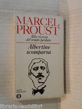 ALLA RICERCA DEL TEMPO PERDUTO Albertine scomparsa Marcel Proust Mondadori 1973