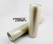"FriscoCraft Hot Transfer Tape for Printable Heat Transfer Vinyl (HTV)-12"" x 50'"
