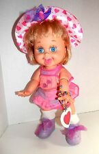 1990 Galoob So Playful Penny Baby Face Doll #10 W Original Outfit & Pendant
