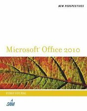 New Perspectives on Microsoft Office 2010, First Course (New Perspectives (Thoms