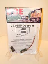 NCE D13NHP HO DCC Decoder for HO engines w/NMRA 8-pin plug NEW