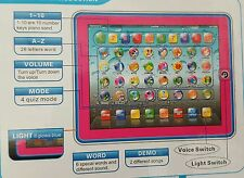 FIRST EDUCATIONAL TABLET IPAD LAPTOP COMPUTER TODDLER CHILD KIDS LEARNING TOY