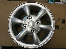 genuine new peugeot 206 alloy wheel Phoenix 9606HR 5.0jx13 ch4.24 VAS145