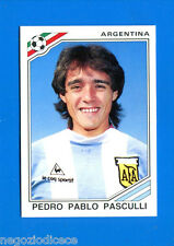 WORLD CUP STORY Panini - Figurina-Sticker n. 177 - PASCULLI -ARG-MEXICO 86-New