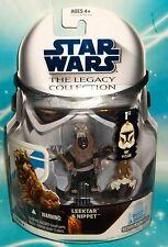 STAR WARS LEGACY COLLECTION BLUE CARD #BD 04 LEEKTAR & NIPPET 1ST DAY OF ISSUE