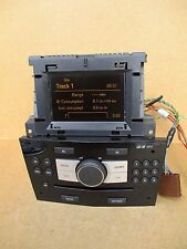 Vauxhall Zafira B Astra H CD30 Radio Stereo CD MP3 Player PIANO BLACK 13289935