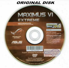 ASUS GENUINE MOTHERBOARD SUPPORT DISK MAXIMUS VI EXTREME Rev 633.04 M3136