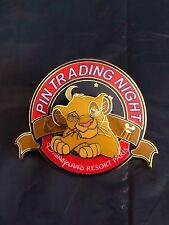 DISNEY PIN - PIN TRADING NIGHT - SIMBA - ROI LION - LION KING - DLRP - LE 400