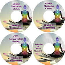 Guided Meditation Chakra & Aura Riequilibrante,Energizzante & Messa a terra 4 CD