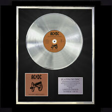AC/DC FOR THOSE ABOUT TO ROCK WE SALUTE YOU  CD PLATINUM DISC FREE P+P!!