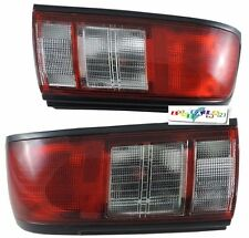For Nissan Sentra 331 B13 1991-1994 Tail Lights Rear Lamps Red/Clear -Free Ship
