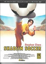 COFFRET DIGIPACK 2 DVD COLLECTOR--SHAOLIN SOCCER--STEPHEN CHOW