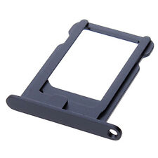 Nano Sim Card Sim Tray Holder Replacement Part For IPhone 5 5G 5S Black New UK