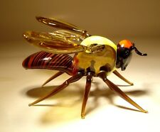 "Blown Glass ""Murano"" Art Animal Figurine Insect GIANT Wasp"