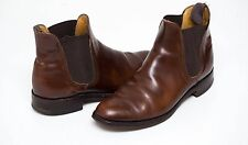 MENS LOAKE CHELSEA ANKLE BOOTS 100 % GENUINE LEATHER BROWN SIZE UK 7 VGC