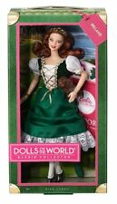 2012 Barbie Passport Dolls of the World DotW Ireland Doll!-W3440