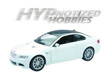 NEWRAY 1:24 BMW 2008 M3 COUPE DIE-CAST WHITE 71056