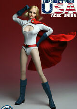 "1/6 POWER GIRL Head Sculpt Suit Set For 12"" Phicen Hot Toys Female U.S.A. SELLER"
