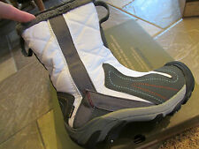 NEW KEEN BETTY WINTER BOOTS WOMENS 5 MID WHITE/GARGOYLE COLD WEATHER WATERPROOF