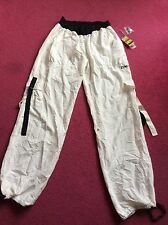 Zumba Ultimate New Orbit Cargo White Pants ( Size XXL )