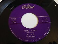 "Elias - Tom Hark / New Year Rock Capitol Records 7"" 45 RPM Vinyl"