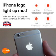 iPhone 6s Apple logo led mod backlight night Glowing Logo part Light Kit