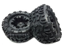 COPPIA RUOTE MONSTER TRUCK ESAGONO INTERNO 12mm 1/10 OFF ROAD 2PCS 10138BK VRX